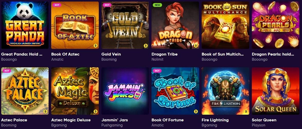 Lista giochi BaoCasino