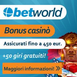 betworld casino e sport