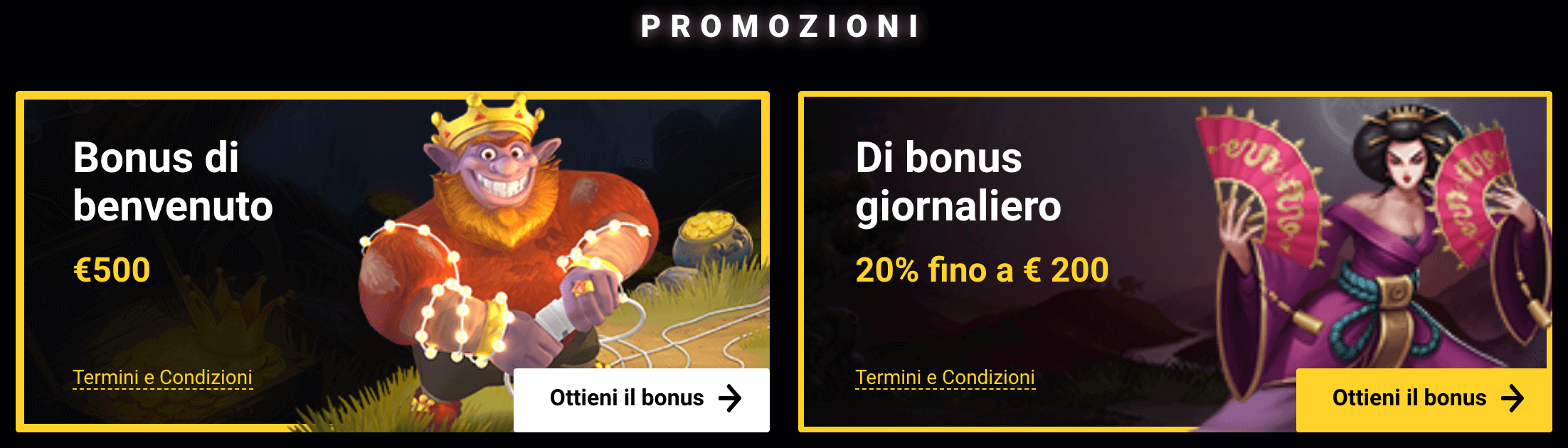 Promozioni Zet Casino