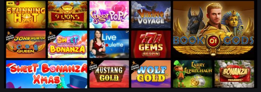 Giochi di Zet Casino