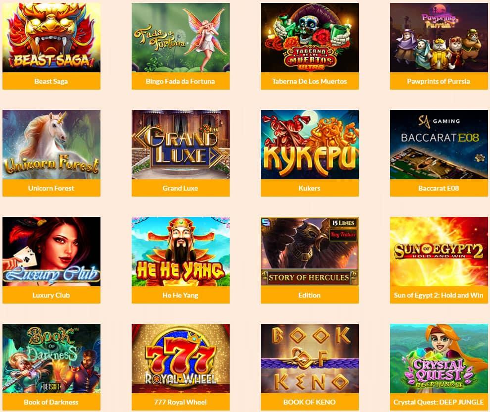 giochi online allcashback casino
