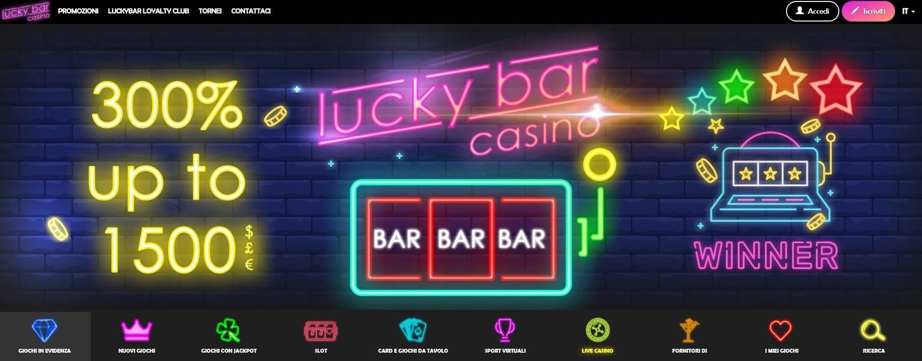 Lucky Bar Casino