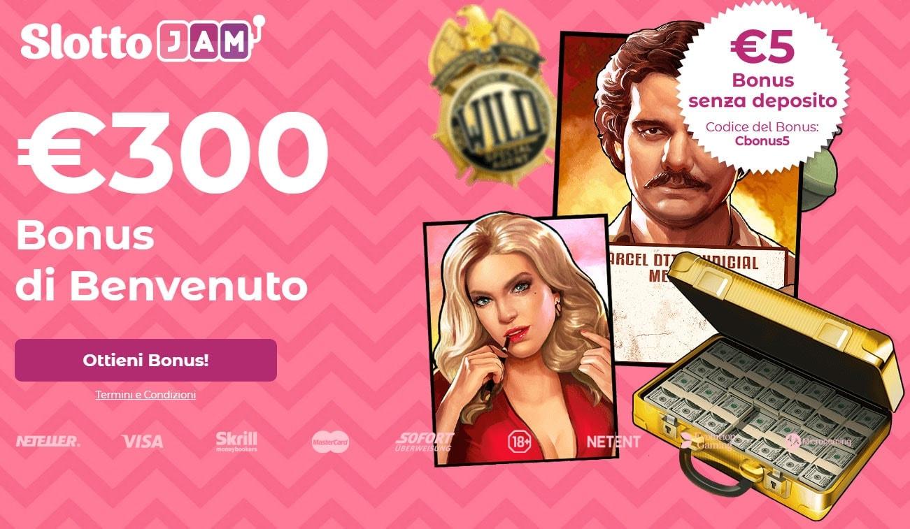 SlottoJam Casino Ruota Fortuna