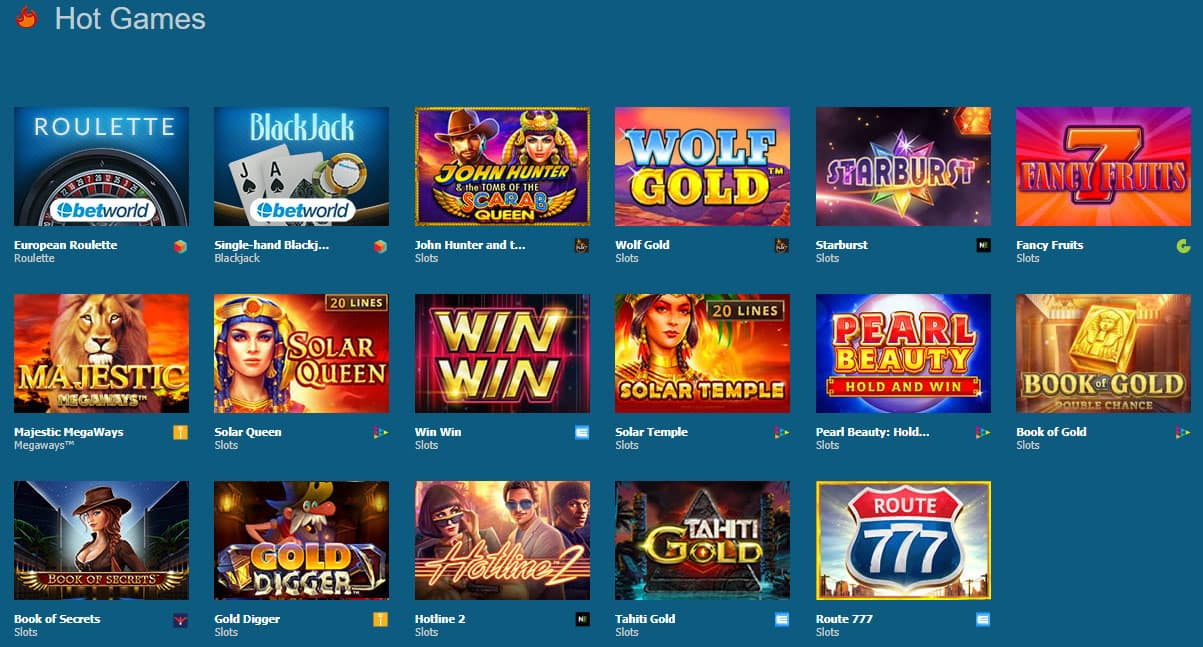 giochi betworld casino