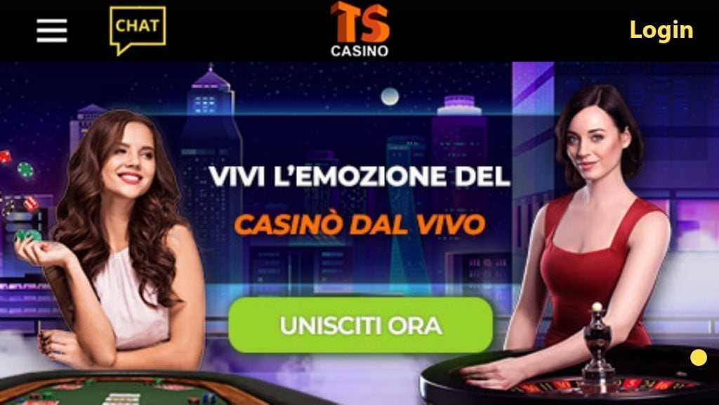 Giochi Live TS Casino