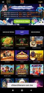 TS Casino mobile