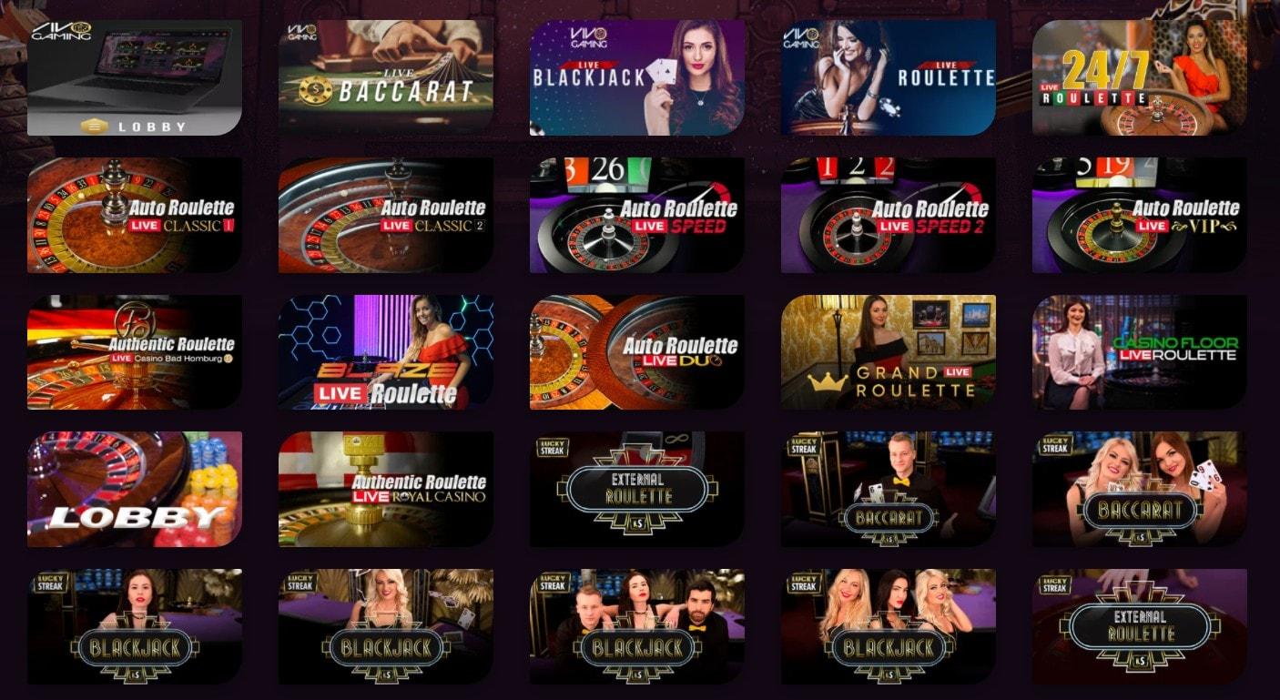 Giochi Live Casinonic