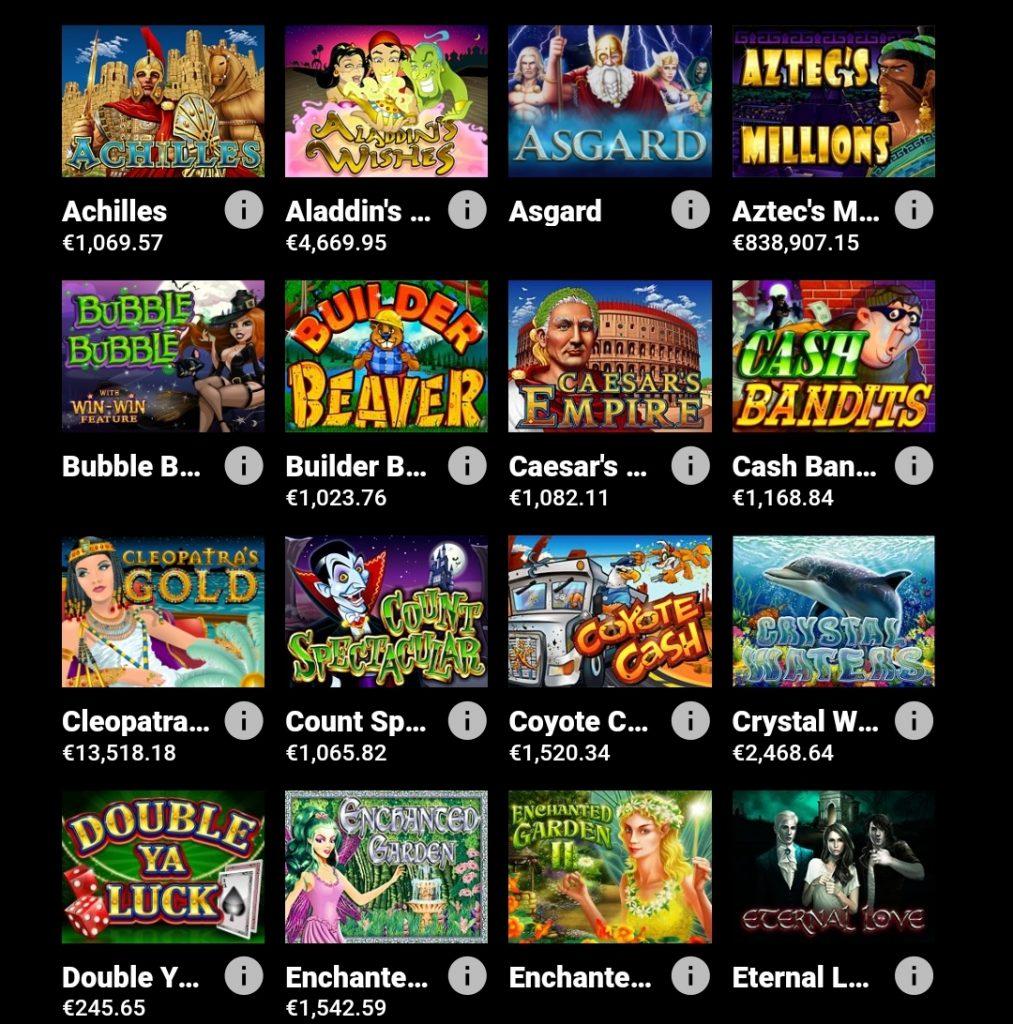 Giochi Midas Casino