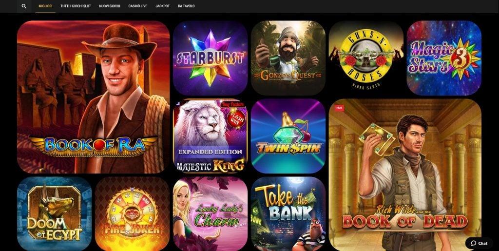 Giochi Million Vegas Casino