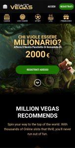 Million Vegas Casino mobile