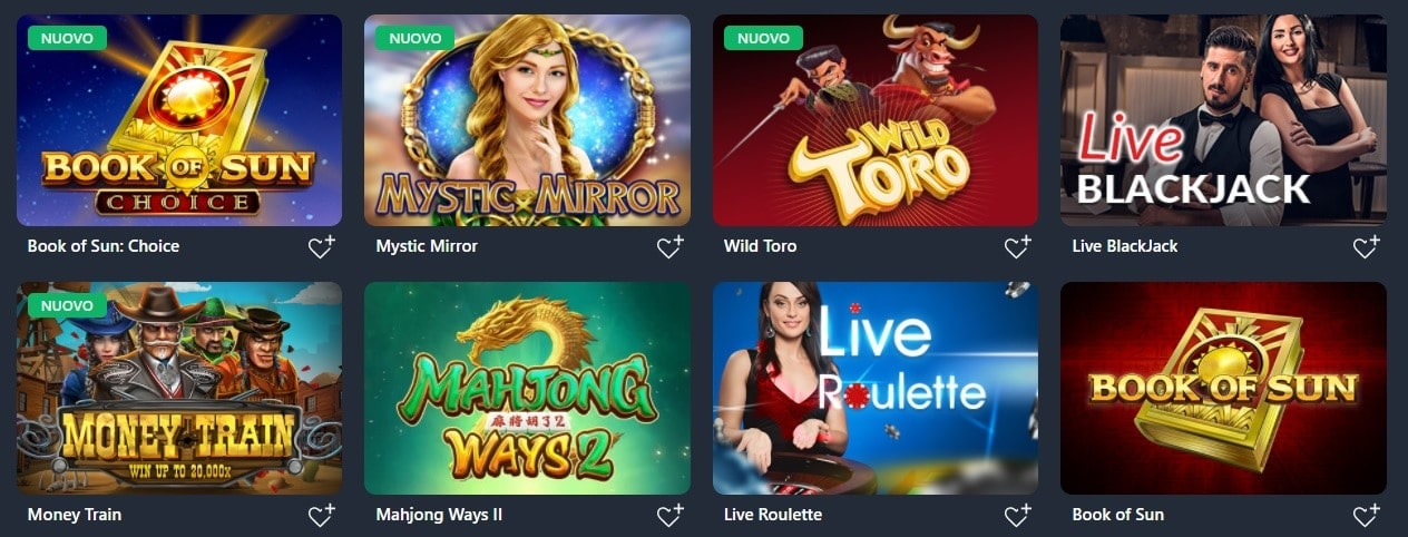 Giochi Buran Casino